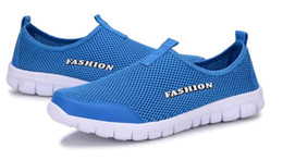 Wholesale Hollow Lace Shoes - 2017 Men and women hollow low to help breathable mesh cloth shoes comfortable and comfortable shoes a pedal lazy shoes superstar