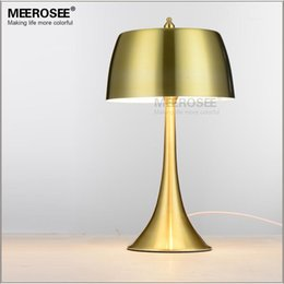 Wholesale Vintage Metal Tables - Modern E27 bulb table desk lighting fixture lamp lustre lamparas for Home decoration Bedroom Hotel room fast shipping MT12156