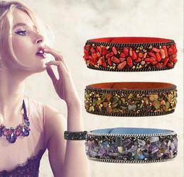 Wholesale Multicolor Jade Bracelet - Fashion Multicolor Natural Stone Beads Charms Bracelets For Women Jade Bracelet Jewelry Wholsale