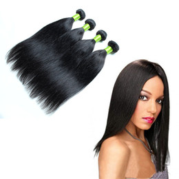 Wholesale Chinese Factory Extension - Grade 8a hair straight hair 100 human hair extensions Machine Double Weft 4 Pieces lot Grade 8a hair straight hair Factory Price