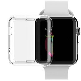 Canada Coque de protection TPU souple et transparente pour Apple Smart Watch S2 S3 38MM 42MM S4 40mm 44mm Housse de protection Shell GSZ397 cheap smart watch s3 Offre