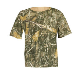 Wholesale Max Camouflage - Hot Sale 25% OFF Men's Pure Cotton Realtree Max-4 Camouflage Hunting T-Shirt,Camo Shirts,Camouflage Fishing Camo T-shirt Clothes Camo Wear