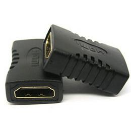 Cabo hdmi online-HDMI a HDMI Hembra - Cable de adaptador de extensión hembra Cable convertidor cabo kabel para HDTV HDCP 1080P para adaptador hdmi 200pcs