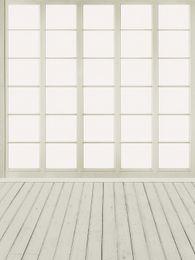 Wholesale indoor wallpaper - Indoor Wood Window Photography Backdrops Baby Newborn Digital Studio Photo Booth Wallpaper Photographic Background Wooden Plank Floor
