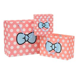 Wholesale Wholesale Wedding Bonbonniere - Candy Color Gift Bag Packaging Candy Box Portable Hand Gift Boxes Rustic Bonbonniere Wed Favors For Wedding Party Birthday