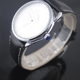 Wholesale Black Leather Bracelet Men Watch - 2017 NEW Luxury French brand Men or Women Watches Fashion Dress Quartz Watch replicas Sports Business Clock Wristwatch montre bracelet
