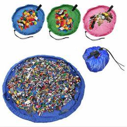 Wholesale Media Storage Organizer - Kids Toys Storage Bag Medium Baby Toys Quick Storage Bag Toy Organizer Home Picnic Cars Organizer Bag 150cm