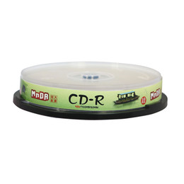 Wholesale Printable Cds - 12cm High quality unmarked printable empty   blank record CD disc   disk for CD-R 700MB 12X-52X DHL Free Shipping