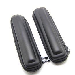 Wholesale Xy Black - Wholesale-E-XY New Arrival Black Mini Slim Case Small eGo Leather Zipper Carry Bag Zipper Case eletronico,electronic cigarette case