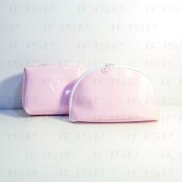 Canada Marque de mode 2pcs / set boîtier cosmétique luxe maquillage organisateur sac beauté trousse de toilette pochette rose embrayage fourre-tout boutique cadeau VIP en gros Offre