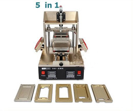 Wholesale Screen Remover - 5in1 Universal LCD Screen Separator Glue Remover Frame Laminating Machine Middle Bezel Separator Molds 4 4S 5 5S 5C 6 6pius