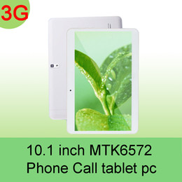 Wholesale Epad Phone - 2016 10.1 inch MTK6572 Dual Core 1.5Ghz Android 4.4 WCDMA 3G Phone Call tablet pc GPS bluetooth Wifi Dual Camera 1GB 16GB EPAD