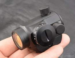 Wholesale Mini Micro Scope - Micro mini 1x20 Red dot sight scope for picatinny weaver rail mount base All aluminum alloy CNC hunting shooting M3796