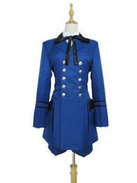 Wholesale Ciel Phantomhive Full Cosplay Black - Black Butler Ciel Phantomhive I Cosplay Costume Blue Suit