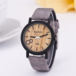 Wholesale Wood Wrist Watch Mens - Fashion Watch Watches Luxury Watches Wood Grain Watch Watches Men Brand Watch Women Mens Watch PU Leather Quartz Watches Wrist Watch 268