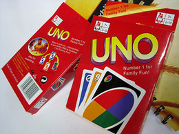 Wholesale Trade Game Wholesalers - UNO card family party games friend activity toys many people play the game props hot sales Free Shipping