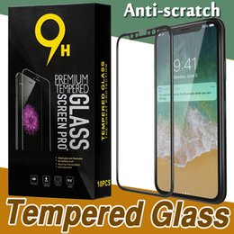 Wholesale 3d Carbon Fiber - Glossy Carbon Fiber 3D Curved Edge Tempered Glass Full Cover Film Screen Protector For iPhone X 8 7 Plus 6 6S Samsung S7 With Retail Box