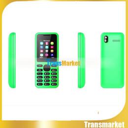 Wholesale Dual Sim Logo - 130 1.77 Inch Cheap Phone Good Quality Phone Dual Sim WIth logo Unlock Phone