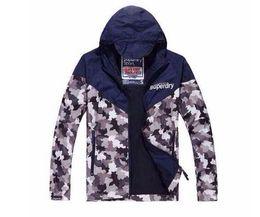 Wholesale nylon outerwear - Hot sale SUPER DRY Men's windbreaker Jackets camouflage army hoodie Trenchcoat men Outerwear Coats Men's overcoat Clothing
