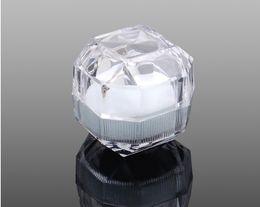 Atacado acrílico Anel Brinco Colar Caixa De Jóias Presente Presente Caso Titular 39x39mm de Fornecedores de sacos arcos atacado