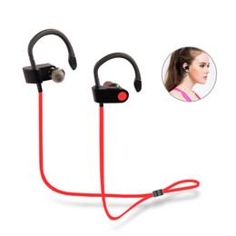 2019 mp3-плеер наушники оптом Wholesale-V8 Sports Running Headphones Hifi Stereo Wireless Earphones with Mic Multi -point Handfree MP3 player for  скидка mp3-плеер наушники оптом