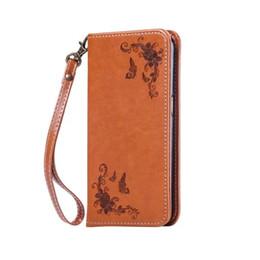 Wholesale Ace Flip Case - Magnetic Flip Leather Case For Samsung Galaxy J1 Ace 2016 J2 J3 J510 J5 J710 J7 A3 A5 A7 A8 A9 Grand Prime Core Flower Wallet Pouch Cover