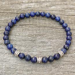 Wholesale Lapis Lazuli Bracelets - Lapis Lazuli Bracelet, Womens or Mens Bracelet, Natural Gemstone Stretch Bracelet, Tigers Eye, Beaded Jewelry, Women bracelet, Men Bracelet