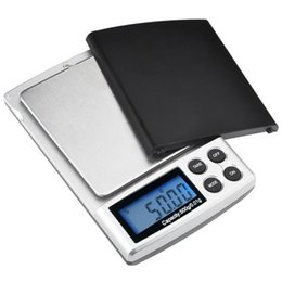 Wholesale Unit Digital - 500g x 0.01g Digital Precision Scale Gold Silver Jewelry Weight Balance Scales LCD Display Units Pocket Electronic Scales