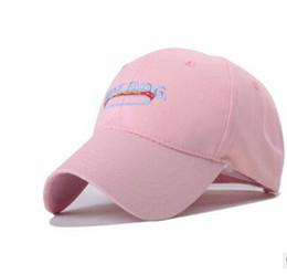 green fedoras Скидка Новое прибытие YJB-A122 розовый бейсболка шляпа собака хотдог изгиб весна и лето солнце прилив шляпа регулируемая крышка мужчины женщины мода популярные cap