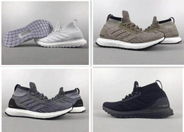 Wholesale Running Gifts - Christmas gift Ultra Boost 3.0 Triple Black and White Primeknit Oreo CNY Blue grey Men Women Running Shoes Ultra Boosts free shipping