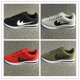 Wholesale Us8 Female Male - hot sell! 2016 classic yin and yang male and female spring autumn casual racer shoes Cortez Shoes Leisure Nets Shoes size 36-45