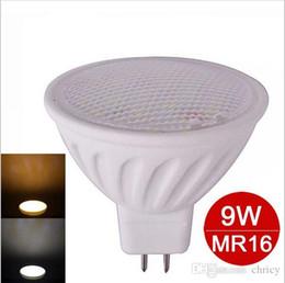 led dimmable mr16 5w Promotion Dimmable mr16 led lampe LED Céramique spot éclairage 5W SMD5730 12V led ampoule lampe lumière chaude / blanc froid