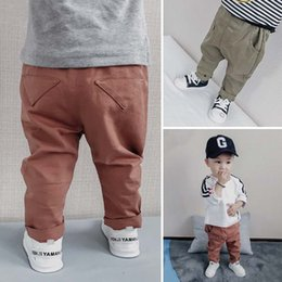 Wholesale Casual Winter Trousers Pants - Baby Casual Trousers Fashion cotton Boys Trouser kids Long Trousers Pants Boy Pants Childrens Pants Baby Boy Clothing Infant Clothes A1122