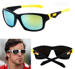 Wholesale Nice Pcs - summer newest style Only SUN glasses 11 colors sunglasses men Bicycle Glass NICE sports sunglasses Dazzle colour glasses A+++ free shipping