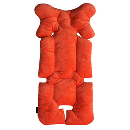 Wholesale Head Carriage - Wholesale- Baby Umbrella Stroller Cushion Safety Car Seat Pad Infant Carriage Mat Stroller accessories Trolley Cushion Head Protection Pad