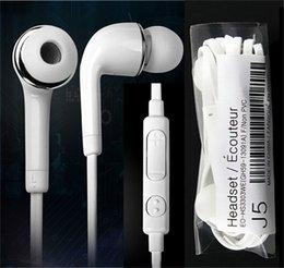 Wholesale Earphone Earbuds Stereo - 3.5mm In Ear Earphones Stereo Headphones Headsets With Microphone Earbuds Super Stereo Earbuds For Mobile Phone MP3 MP4