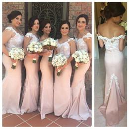 Wholesale Long Bridesmaid Dresses Slit - New Arrival 2017 Summer Beach Bohemian Bridesmaid Dresses Mixed Style Chiffon Side Slit Boho Custom Made Bridesmaid Gowns For Wedding