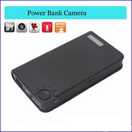 Wholesale H 264 Power Bank - Hot Sale! Power Bank Spy Camera H.264 Full HD 1080P Hidden pinhole camera mini Camcorder DVR Real Power Bank Camera Muilt Color