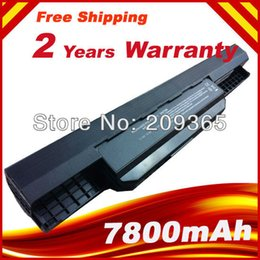 Wholesale Asus K53e Battery - Wholesale-7800mAh 9 Cells Battery for Asus A32-K53 A42-K53 K53B K53E K53F K53J K53S K53S E K53U+Free shipping