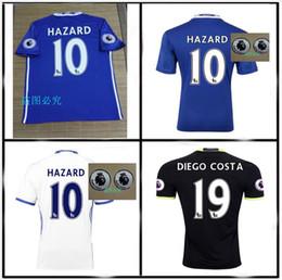 Wholesale Chelsea Jersey Shorts - 2016 TOP Quality Chelsea Jerseys 16 17 home away jerseys Third TERRY HAZARD Pedro OSCAR DIEGO COSTA jerseys shirts Free shipping