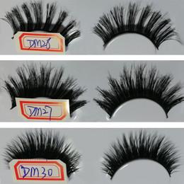 Wholesale Cheap Black Eye Lashes - Cheap Eye Lashes Grafting black Fake Eyelash Long Thick Natural Makeup 3D False Eyelashes 30 style
