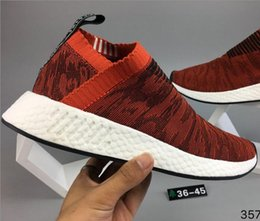 Wholesale Man Pictures - 2017 Real picture newest Athletic NMD R2 Runner PK Primeknit Running Shoes Men Women Mesh NMD XR2 nipple Boost Sports Shoes 2018 Size 36-45