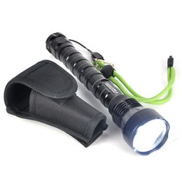 Wholesale Self Stick Led Lights - 515 Boruit 3T6 Flashlight 3x XM-L T6 5-Mode LED Waterproof Hunting Light Tactical Torch Lamp + Traffic stick