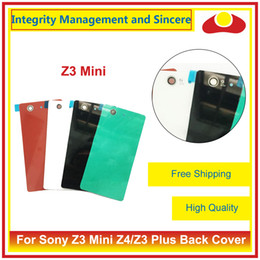 Wholesale Mini Bar House - High Quality For Sony Z3 Compact Z3 Mini D5803 D5833 Housing and Z4 Z3 Plus Back Cover Housing Battery Cover Door Rear Cover Chassis