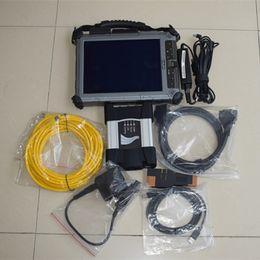 Wholesale Korea Polish - 2017 Next Icom A+B+C Scanner For BMW icom next with Software 480gb ssd + xplore ix104 i7 table for bmw ista diagnostic
