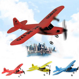 Wholesale Airplane Systems - New Super RC Plane Remote Control Airplane Aeroplane Glider Cool Drones