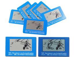 Тест-карты с поляризованными солнцезащитными очками онлайн-Поляризованные солнцезащитные очки Поляризационные тестирования карты водитель солнцезащитные очки поляризованные очки тестовые карты рыбалка шаблон