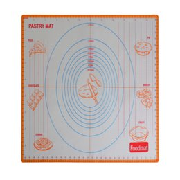 Wholesale Large Silicone Rolling Mat - 17.9x24 inch Large size of silicone baking mat,attach scale Kneading dough mat,non-stick Silicone baking rolling