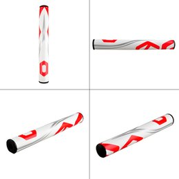 Wholesale Wholesale Golf Putters - Free Shipping Golf Clubs Putter PU Putter Neutral Golf Putter Grips 2.0 3.0 Ultralight Golf Grips Black White Unique Design 2502061