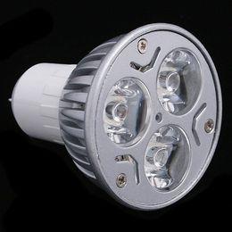 2019 lampadine 3x3w e14 Lampada ad alta potenza GU10 E27 GU5.3 E14 3x3W 9W Lampada dimmerabile CREE LED 85 ~ 265V Lampadina da incasso lampadine 3x3w e14 economici